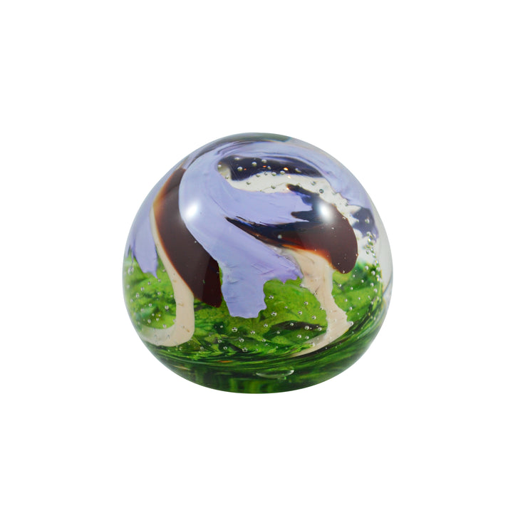 Gerry Reilly Glass Paperweight