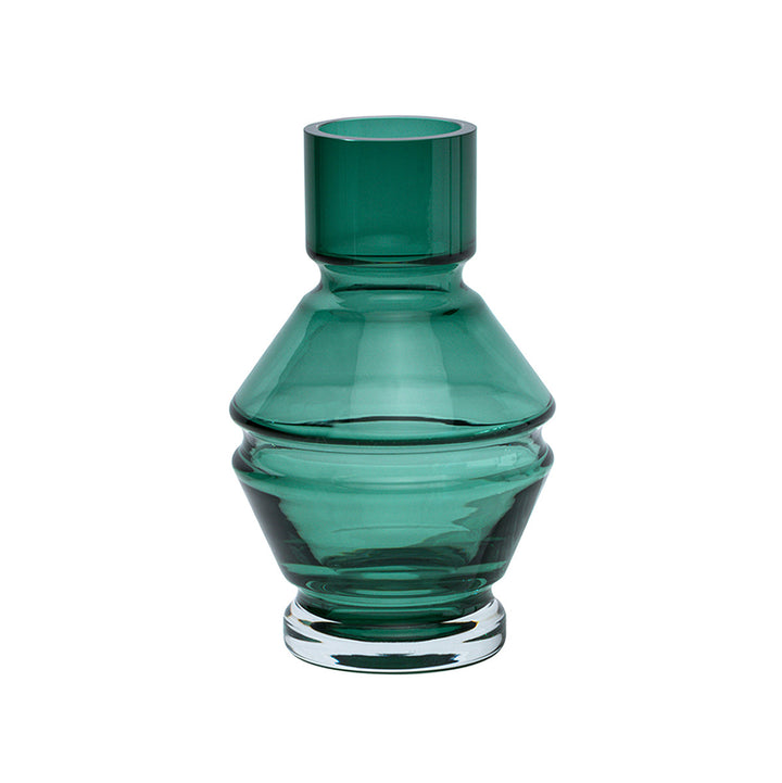 Relæ Glass Vase Large, Bristol Green