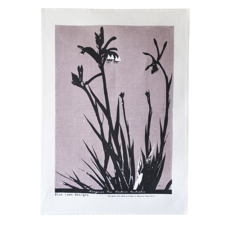 Tea Towel Kangaroo Paw