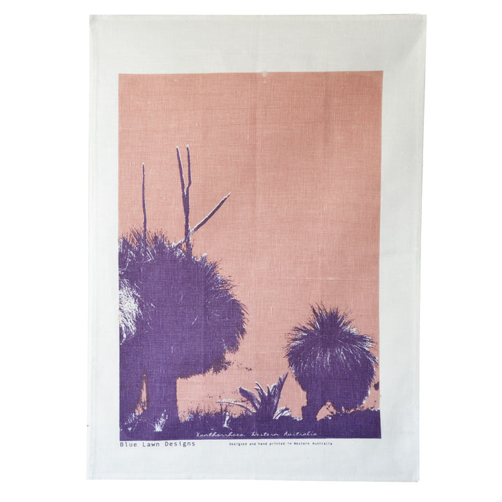 Tea Towel Grass Trees