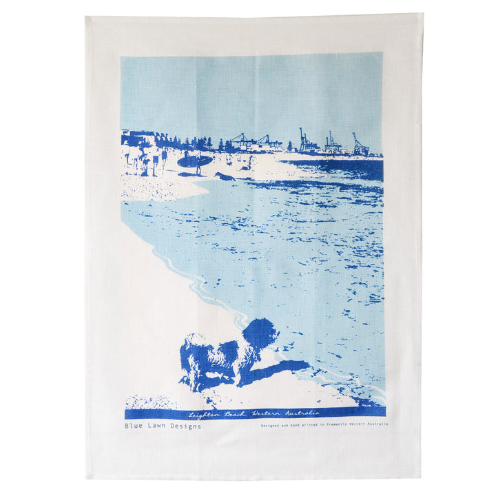 Tea Towel Leighton Beach