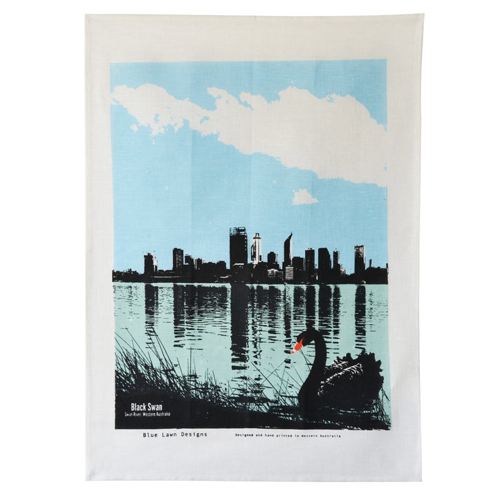 Tea Towel Swan River