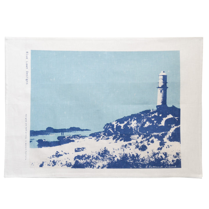 Tea Towel Rottnest Lighthouse