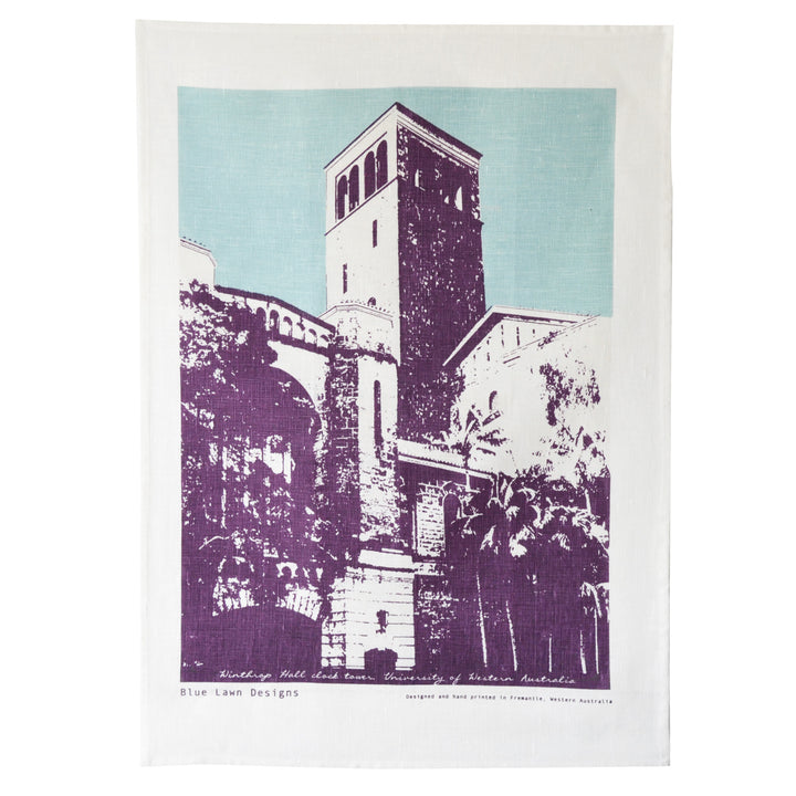 Tea Towel Winthrop Hall