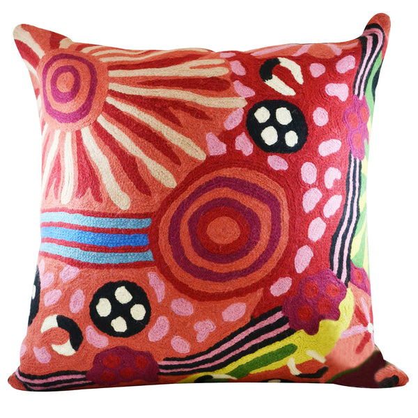 Cushion Cover 40cm Damien and Yilpi Marks
