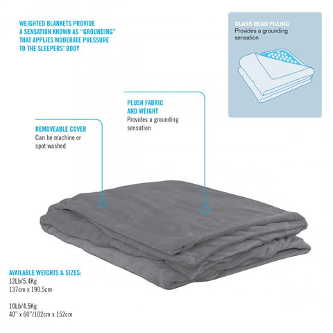 OBUSESSENTIALS WEIGHTED BLANKET