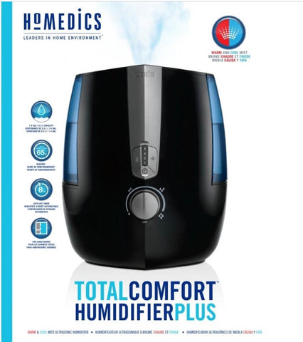 Warm and Cool Mist Humidifier Plus