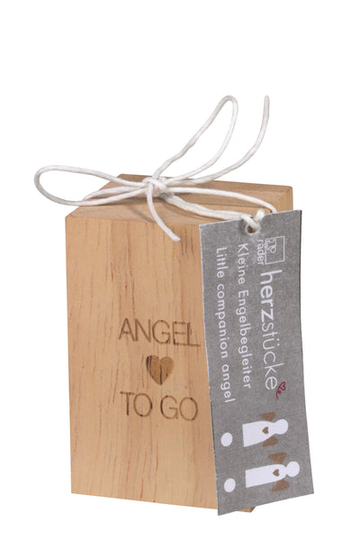 Angel to Go Charm