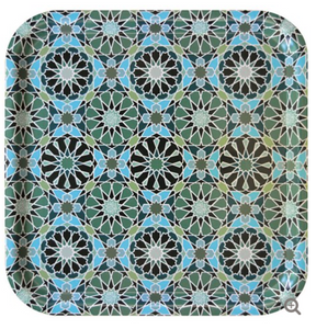 Square Tray Andalusia 32cm