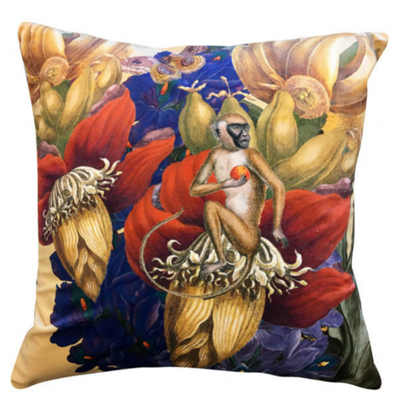 Velvet Cushion Jungle Curry 50x50