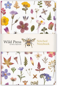 Flower Meadow Stitched Notebook