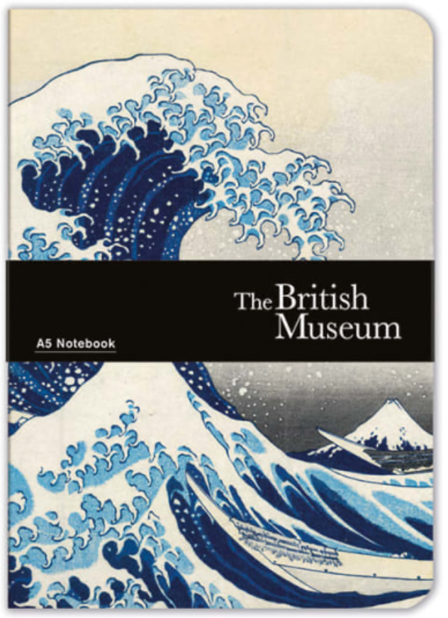 Hokusai Wave A5 Notebook