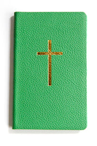 Leather Pocket Notebook Emerald Green Cross
