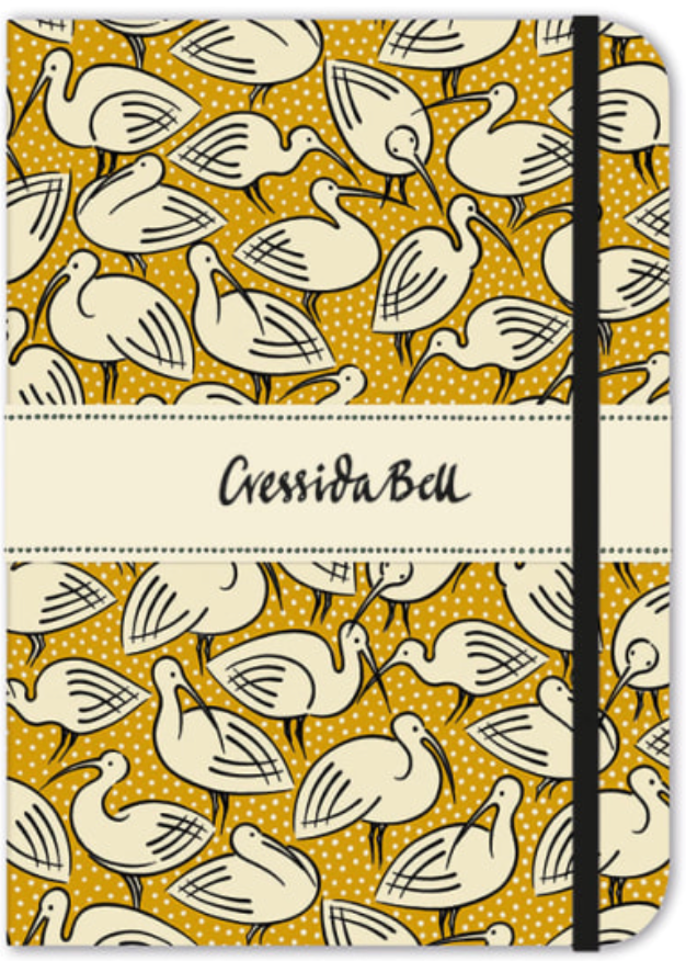 Yellow Ibis Lined Journal