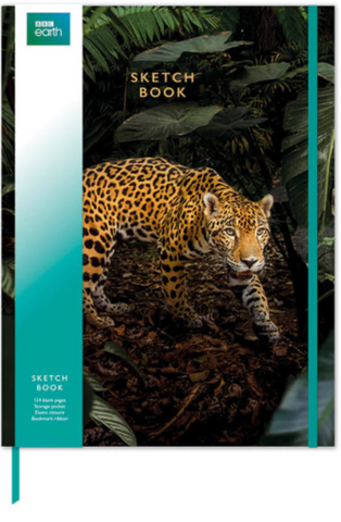 Jaguar Sketch Book