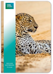 Leopard Deluxe Notebook