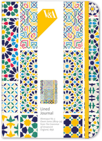 Moresque Lined Journal