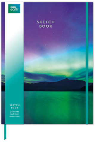 Northern Lights Sketch Book