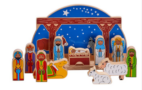 Starry Night Nativity + 11 Characters