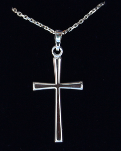 Silver Cross (large)  SH15152