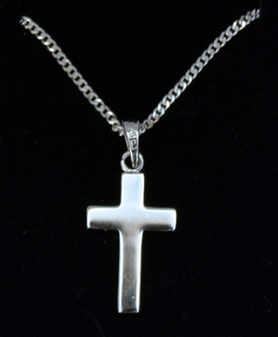 Silver Cross (small) SH17335