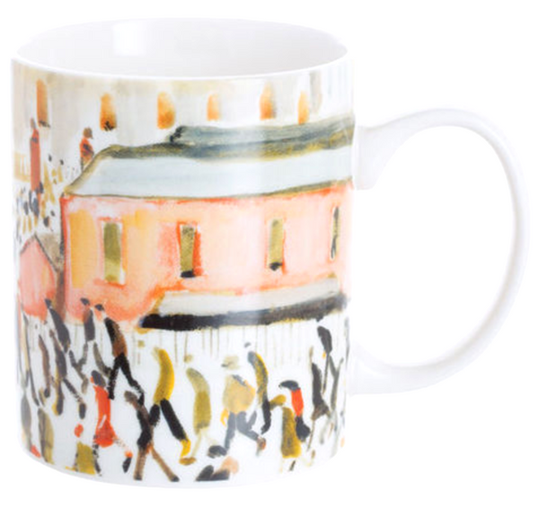 Lowry - Going to Work Art Mug