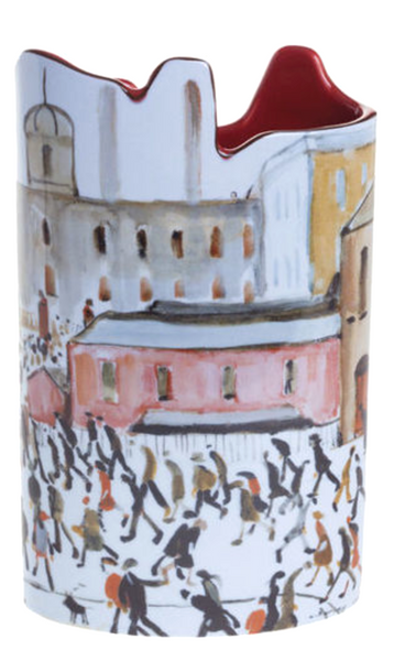 Lowry - Going to Work Vase