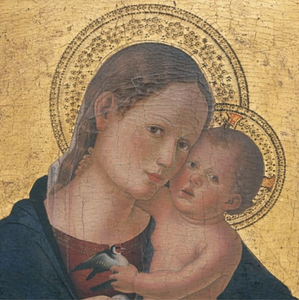 Virgin & Child Detail Romano