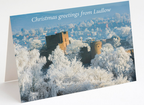 Christmas from Ludlow Castle