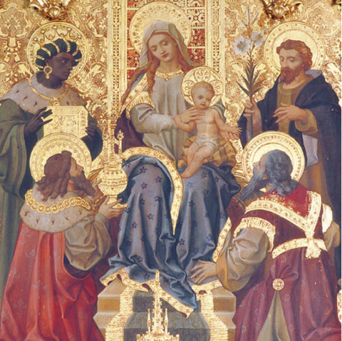 Adoration of the Kings Triptych
