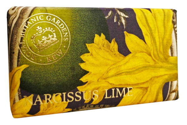 Kew Garden 240g Soap Narcissus Lime
