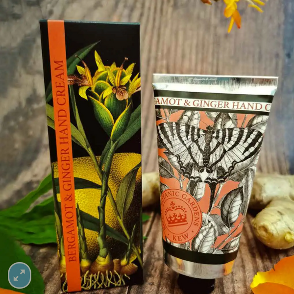 Bergamot and Ginger Kew Gardens Hand Cre