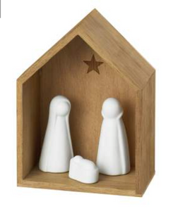 Little nativity set