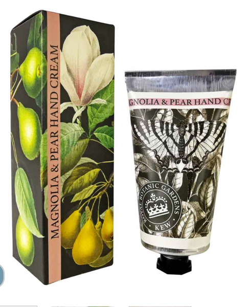 Kew Gardens Magnolia and Pear Hand Cream