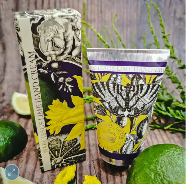 Kew Gardens Narcissus Lime Hand Cream