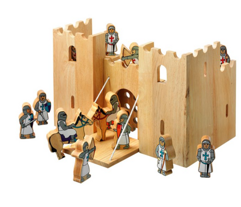Natural Castle Playscene + 12 Knights