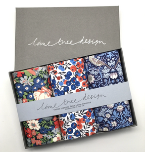 3 Liberty Hankies in a Gift Box - Percy Thrower