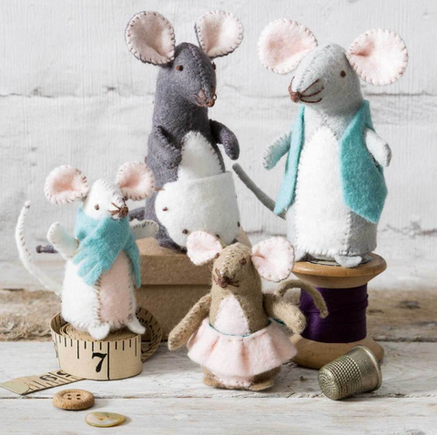 Mouse Family Felt Craft Kit