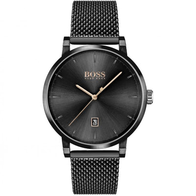 Hugo Boss Confidence Black Dial Stainless Steel 1513810