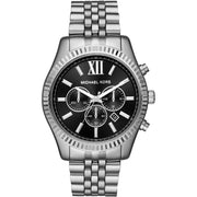 Michael Kors Lexington Chronograph Black Dial MK8602