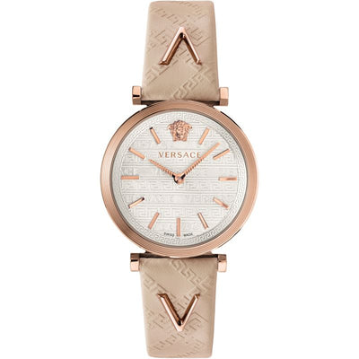 Versace V-Twist Quartz White Dial Ladies Watch VELS00419