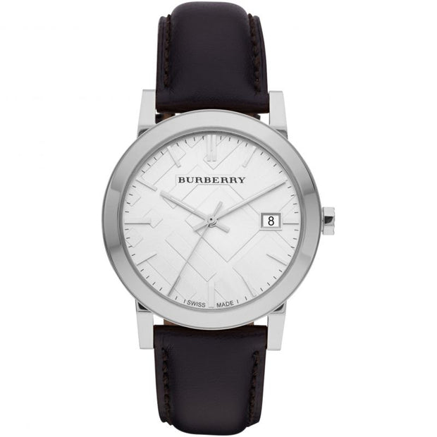 Brand: Burberry Series: The City Model: BU9008 Gender: Ladies Movement: Quartz Water Resistance: 50 meters / 165 feet Features: Leather, Stainless Steel