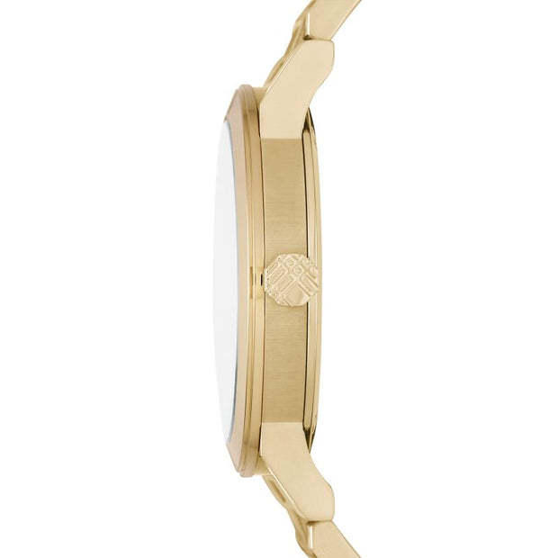 Burberry The City Champagne Dial Gold-tone Men's Watch BU9033