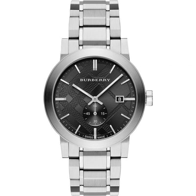 Brand: Burberry Series: The City Model: BU9901 Gender: Men's Movement: Quartz Water Resistance: 50 meters / 165 feet Features: Stainless Steel