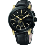 Gucci G-Chrono Chronograph Black Dial Watch YA101203