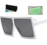 Square big box sunglasses