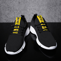 New men's sports shoes trend shoes fashion sports casual shoes students running shoes single shoes