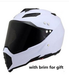 Off-road helmet motorcycle racing helmet road off-road dual-use helmet men and women four seasons pull helmet full face helmet