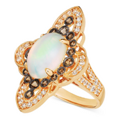 Women's Moonstone Rings Alloy Crystal Crystals will send opponents jewelry