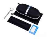 High Quality Sunglasses Accessories a set Exquisite Sun glasses Case with Bag Cloth Polarized Test Card Screwdriver